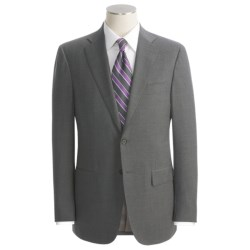 Isaia Fancy Solid Suit - Wool (For Men)