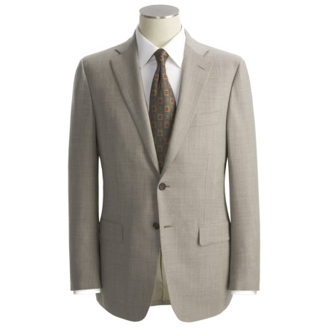 Isaia Nailhead Suit - Wool (For Men)