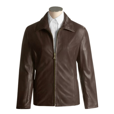 Tibor Leather New Zealand Lambskin Jacket  (For Women)