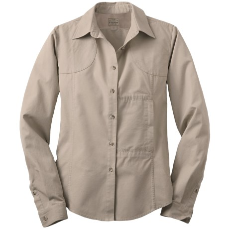 Filson SPF Shooting Shirt - UPF 30, Long Sleeve (For Women)