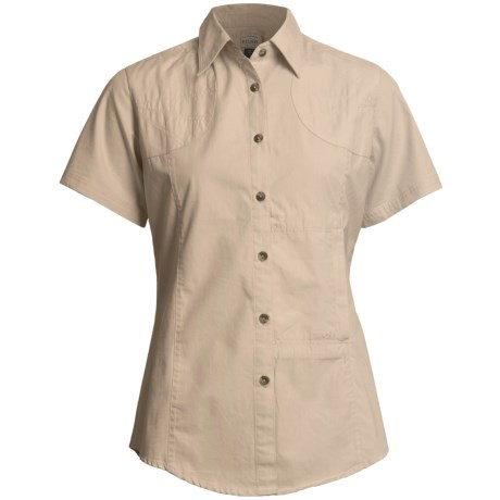Filson Shooting Shirt - Short Sleeve (For Women)
