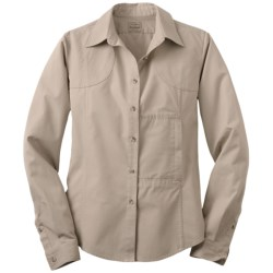 Filson Shooting Shirt - Long Sleeve (For Women)