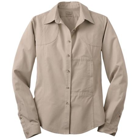 Filson Shooting Shirt - Long Sleeve (For Women)