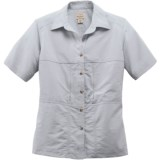 Filson Voyage Shirt - Cotton Poplin Blend, Short Sleeve (For Women)