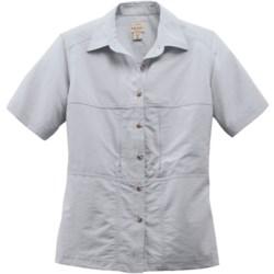 Filson Voyage Shirt - Cotton Poplin Blend, Short Sleeve (For Women)