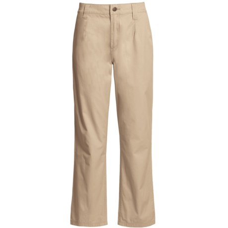 Filson Safari Cloth Pants - Straight Leg, 6 oz. Cotton (For Women)