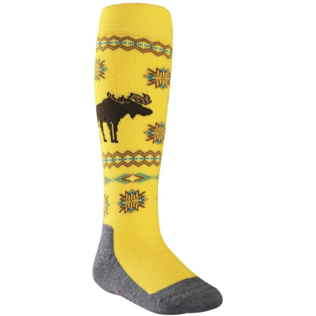 Falke Moose Knee-High Ski Socks - Heavyweight, Wool Blend (For Kids and Youth)