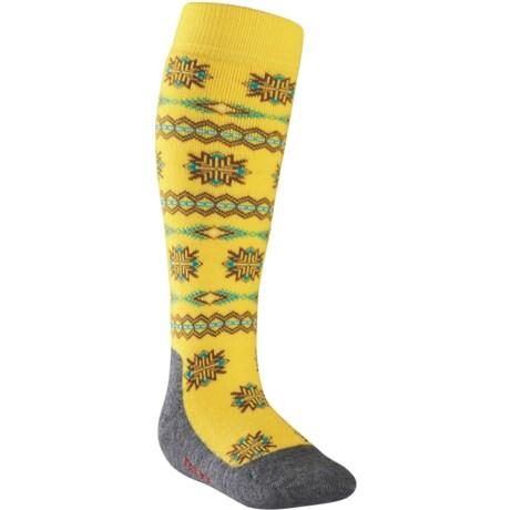 Falke Norwegian Knee-High Ski Socks - Heavyweight, Wool Blend (For Kids and Youth)
