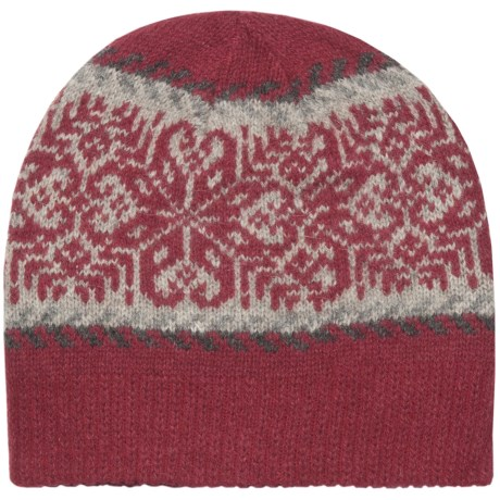 Woolrich Lindale Beanie Hat - Wool-Angora, Jacquard Print (For Women)