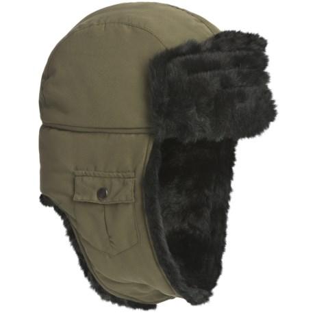 Woolrich Arctic Trooper Hat - Faux-Fur Trim, Fleece Lining (For Men)