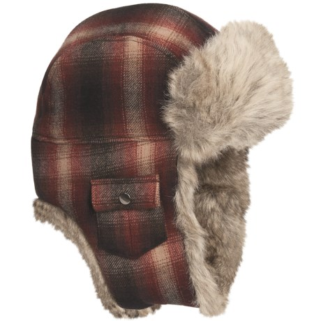 Woolrich Arctic Trooper Hat - Wool, Faux-Fur Trim, Ear Flaps (For Men)