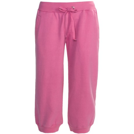 Greetings From Fleece Capris (For Women)