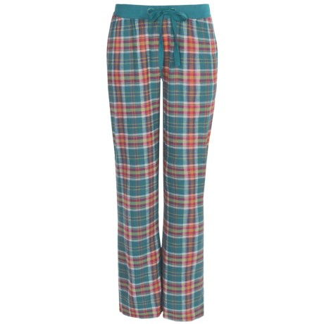 Greetings From Plaid Flannel Pants (For Women)