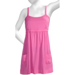 Greetings From Baby Doll Tank Top - Tunic Length (For Women)