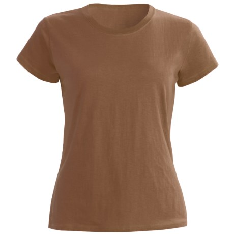 Greeting From Cotton Jersey T-Shirt - Short Sleeve (For Women)