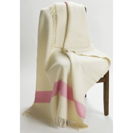 Woolrich Hudson Bay Capote Wool Throw Blanket - 42x70""