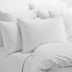 Melange Home Wide Dobby Stripe Sheet Set - King, 400 TC