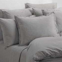 Melange Home Wide Dobby Stripe Sheet Set - Twin, 400 TC