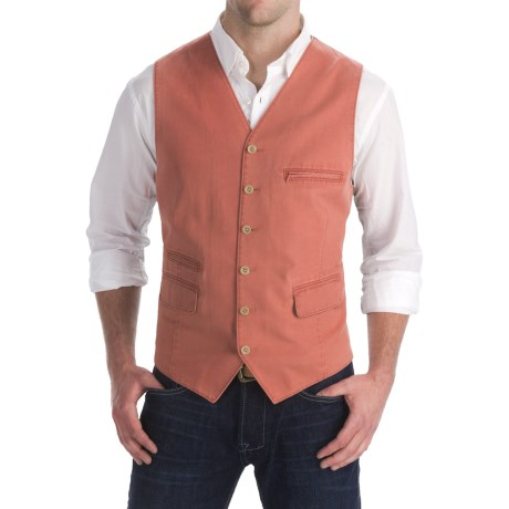 Kroon Jasper Twill Vest - Cotton-TENCEL® (For Men)