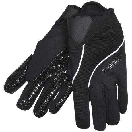 Jacob Ash Hot Shot Torch Windstopper® Gloves - XSF Stretch Fleece (For Men)