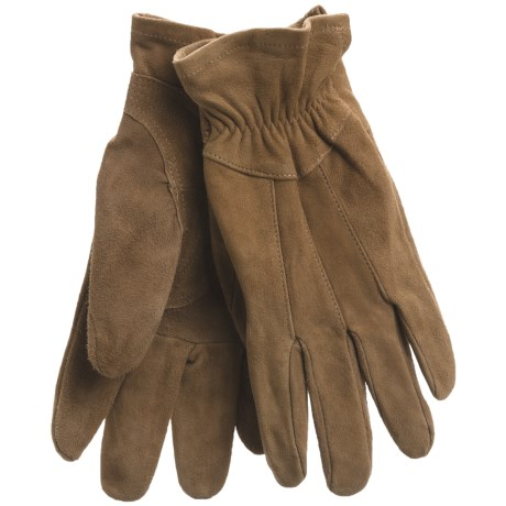 Jacob Ash Ryno Work Gloves - Goat Suede, Unlined (For Women)