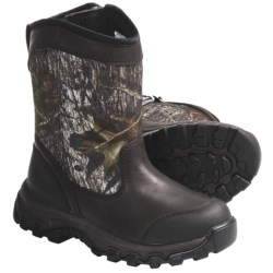Irish Setter Kit Fox Slip-On Hunting Boots - Waterproof, Insulated (For Youth)