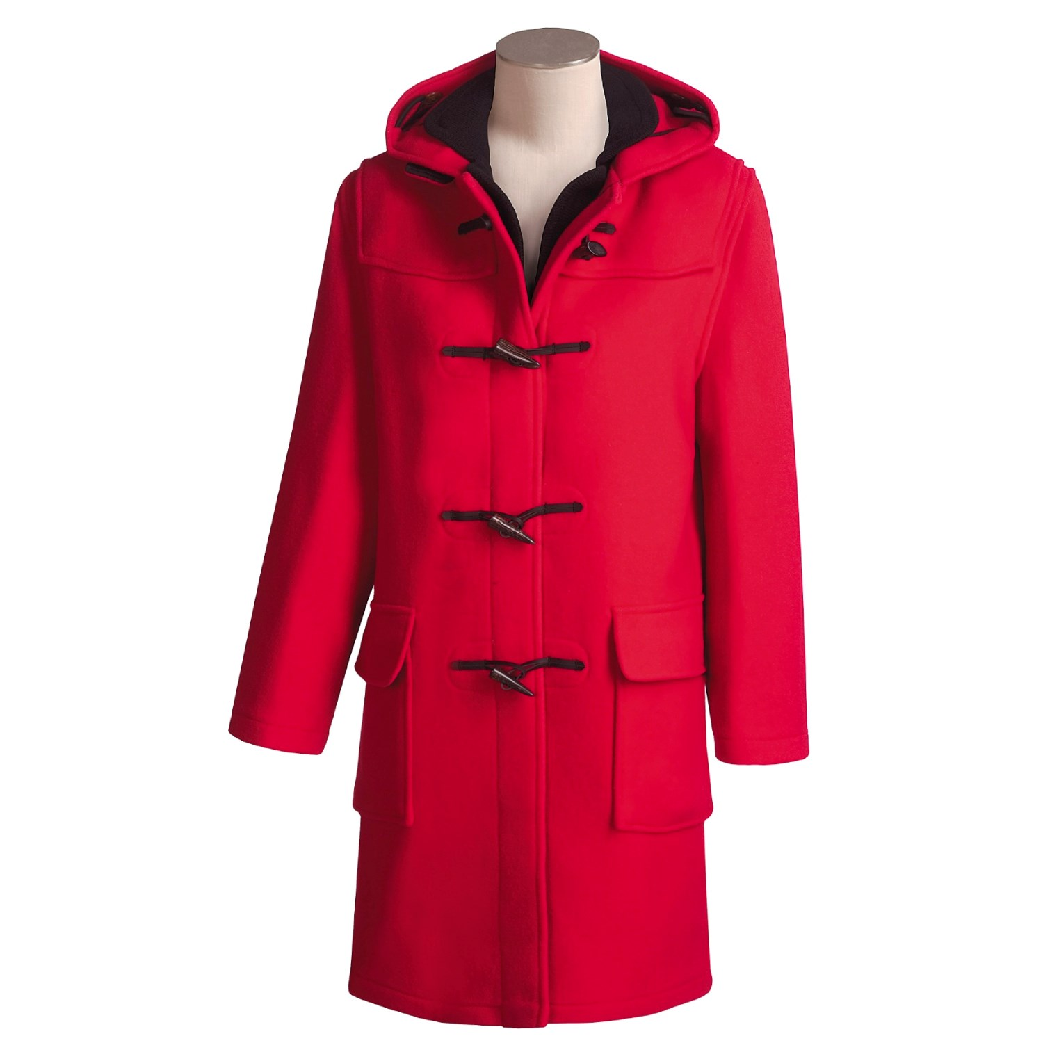 Gloverall Classic Wool Duffle Coat (For Women) 48719 ...