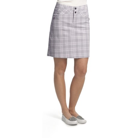 Royal Robbins Epitome Plaid Skirt - Stretch Cotton (For Women)