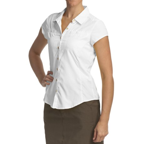 Royal Robbins Windsong Shirt - UPF 50+, Short Sleeve (For Women)