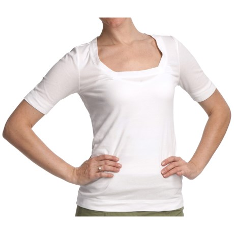 Royal Robbins Endeaver Stretch Cotton Shirt - UPF 30+, Elbow Sleeve (For Women)