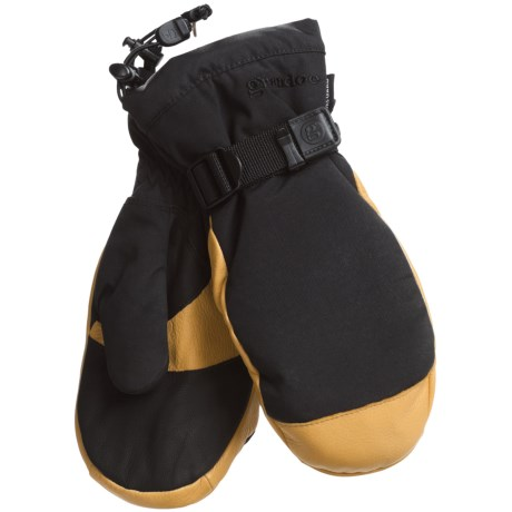 Grandoe Hybrid Mittens - Waterproof, Insulated (For Men)