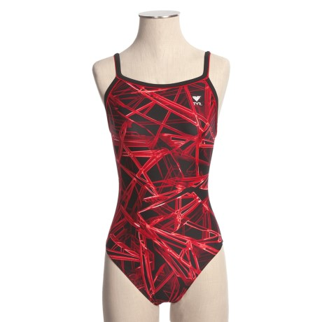 TYR Light Year Competition Swimsuit - Diamond Back (For Women)