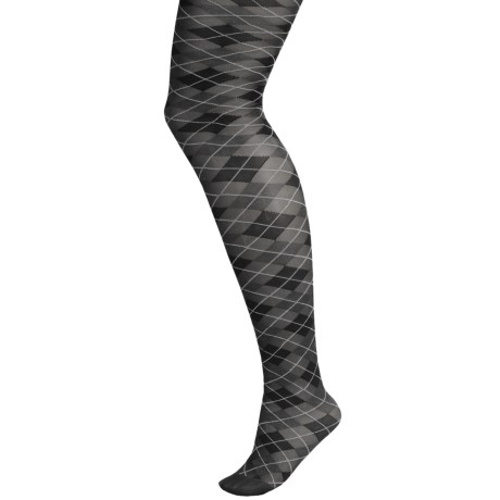 b.ella Alessandra Argyle Tights (For Women)