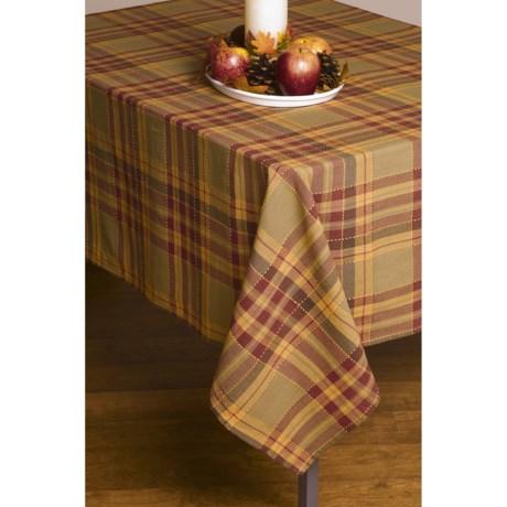 "Lintex Fall Plaid Tablecloth - 52x70"""