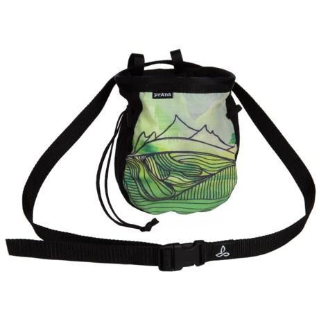 "prAna Custom Chalk Bag with Belt - 7x6x2.5"""
