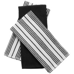 Lintex Runway Stripe Kitchen Towels - 3-Pack