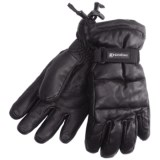 Grandoe Leather Arctic Down Gloves - Waterproof (For Men)