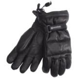 Grandoe Leather Arctic Down Gloves - Waterproof (For Women)