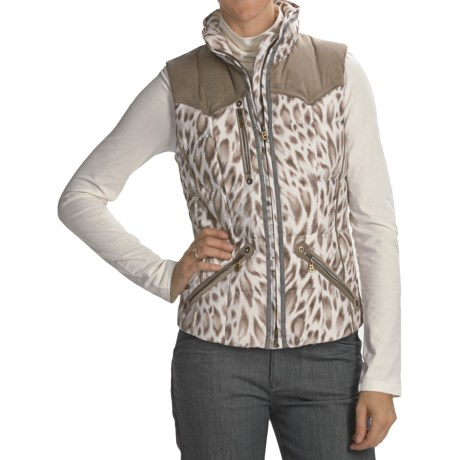 Bogner Yilca-D Snow Leopard Golf Vest - Insulated (For Women)