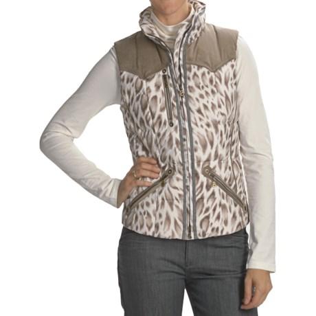 Bogner Yilca-D Snow Leopard Golf Vest - Insulated (For Women)