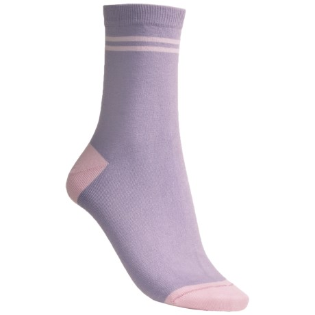 Pantherella Fancy Pattern Cotton Socks - Mid-Calf (For Women)