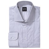 Ike Behar Herringbone Stripe Dress Shirt - Spread Collar, Barrel Cuffs, Long Sleeve (For Men)