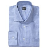 Ike Behar Gingham Check Dress Shirt - Spread Collar, Barrel Cuff, Long Sleeve (For Men)