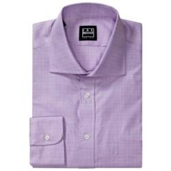 Ike Behar Glen Plaid Dress Shirt - Long Sleeve (For Men)
