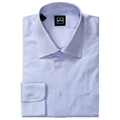 Ike Behar Fine Line Dress Shirt - Spread Collar, Long Sleeve (For Men)