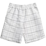 Grayson Check Swim Trunks (For Men)