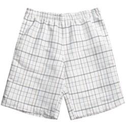 Grayson Check Swim Trunks (For Men)