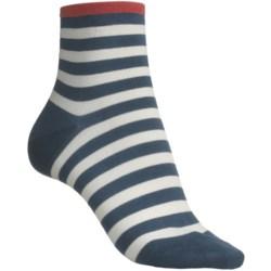 Pantherella Fancy Ankle Socks - Cotton (For Women)