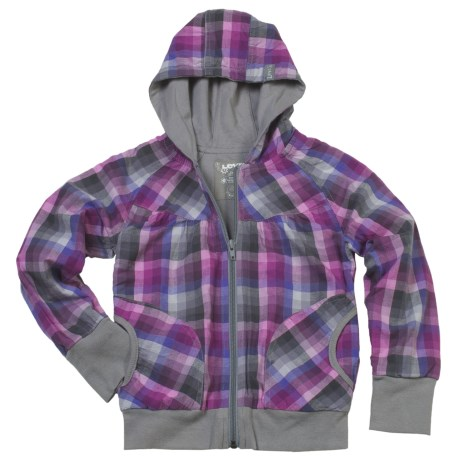 Levi's Plaid Shirt Jacket (For Girls)