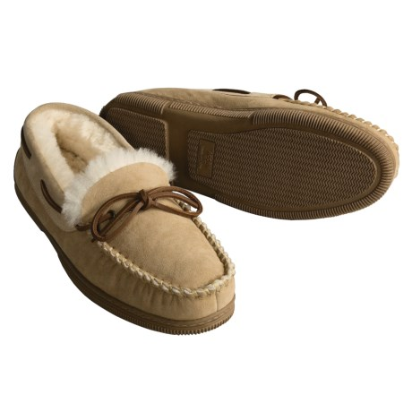 Acorn Lo Moc Slippers - Sheepskin (For Men)